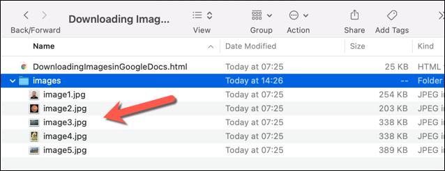 如何从Google文档文档下载和保存图像