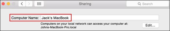 如何在Windows和Mac中查找您的计算机名称?