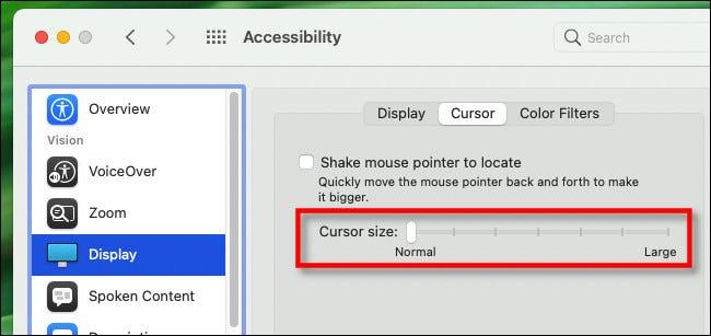 如何通过摇动快速找到Mac鼠标光标