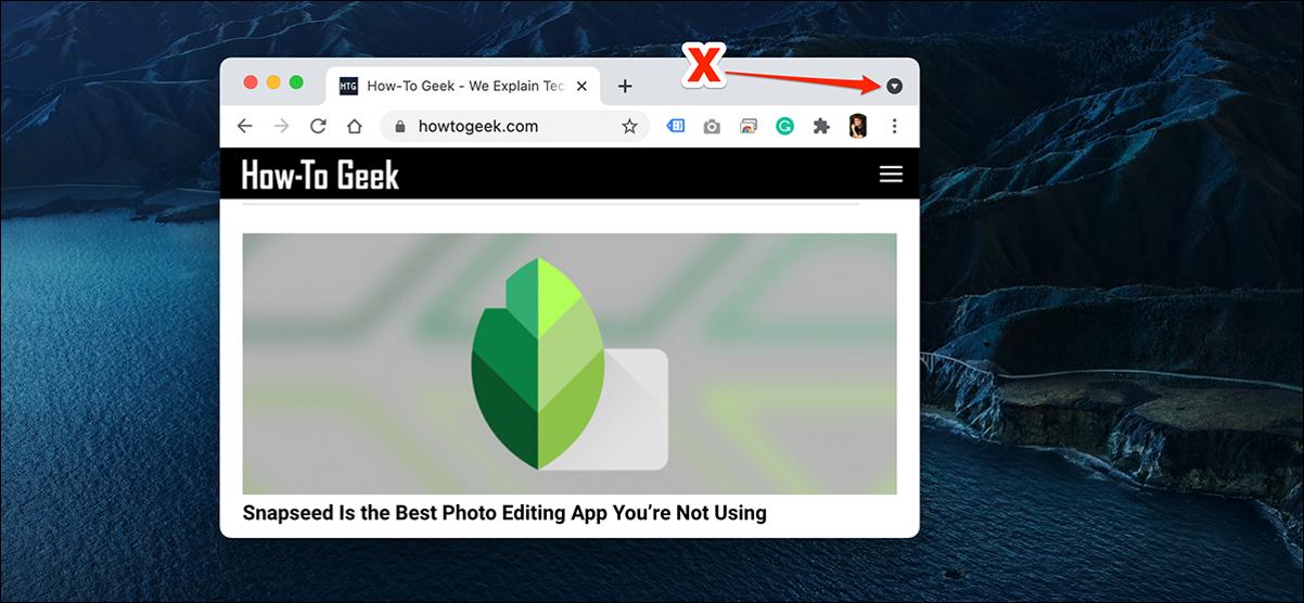 如何在Chrome中启用或禁用标签搜索图标