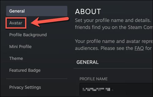 如何更改您的Steam个人资料图片