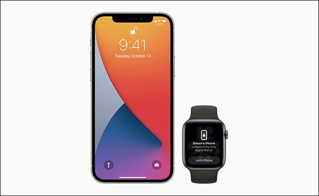 戴口罩时如何解锁iPhone(使用Apple Watch)