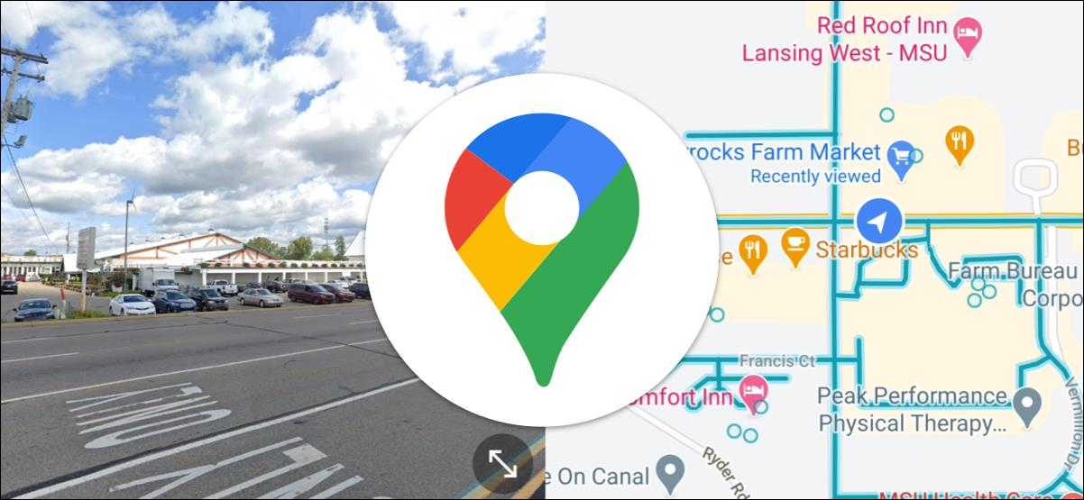如何在Android的分屏中使用Google Maps Street View