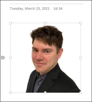 如何在Microsoft OneNote中裁剪图片