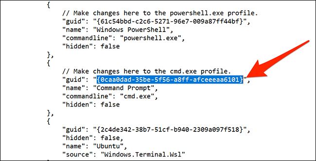 如何在Windows终端中更改默认Shell