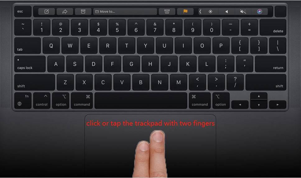 如何在Mac或MacBook上单击鼠标右键?指南在这里