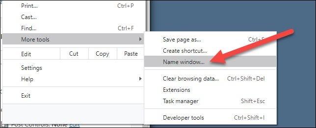 如何为Chrome Windows命名Alt + Tab和任务栏