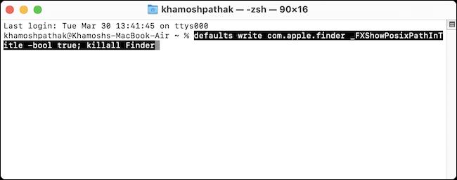 在Mac上查看当前文件夹路径的3种方法