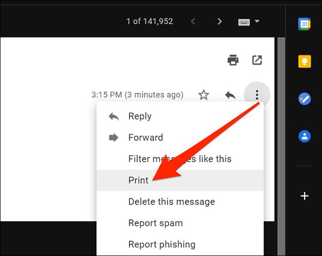 如何在Gmail中将电子邮件另存为PDF