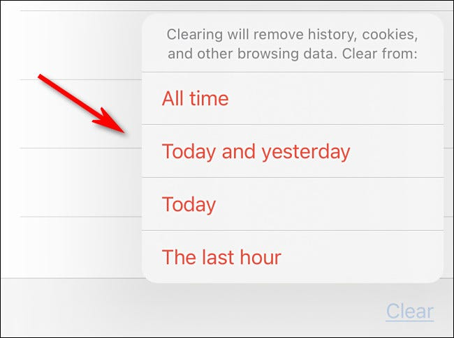如何在iPhone和iPad上的Safari中清除最近的历史记录