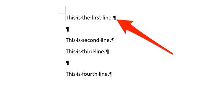 如何从 Word 文档中删除空行