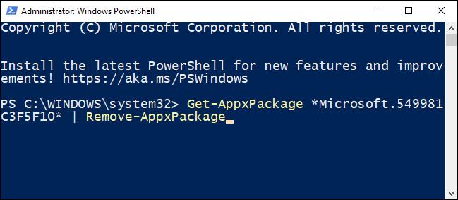 如何在 Windows 10 上卸载和重新安装 Cortana