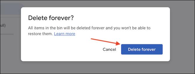 如何删除数据并释放 Google Drive 中的空间