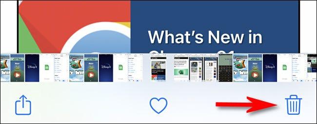 如何删除 iPhone 或 iPad 上的屏幕截图