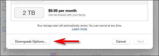 如何取消您的 Apple iCloud 存储订阅