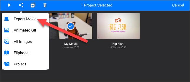 如何用手机制作定格视频