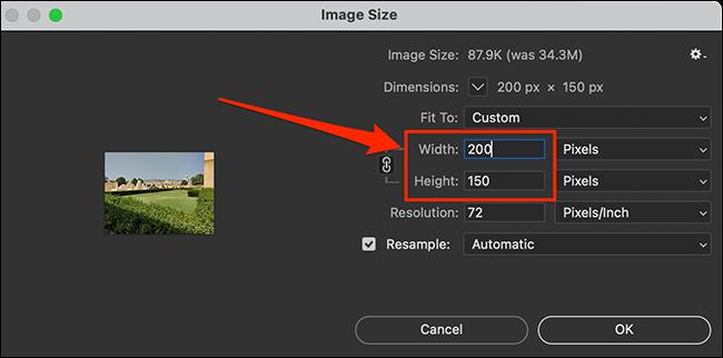 如何在 Photoshop 中调整图像大小