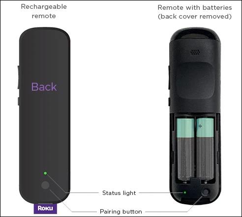 如何配对您的 Roku 遥控器