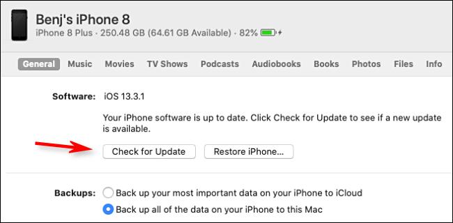 如何更新 iPhone