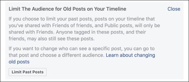 立即更改 7 个重要的 Facebook 隐私设置