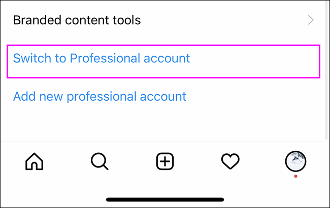 如何切换到 Instagram 商业帐户