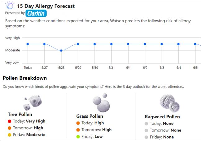 如何检查您所在地区的花粉计数