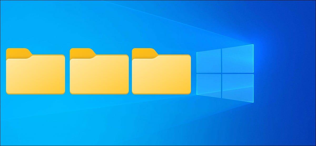 如何在 Windows 10 中一次创建多个文件夹