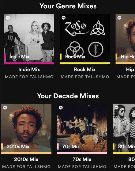 """不要等待包装:Spotify""""只有你""""分享你的音乐品味"""