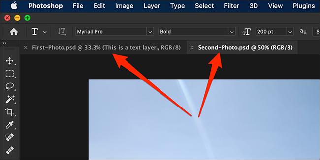 如何将图层从一个 Photoshop 文档复制到另一个
