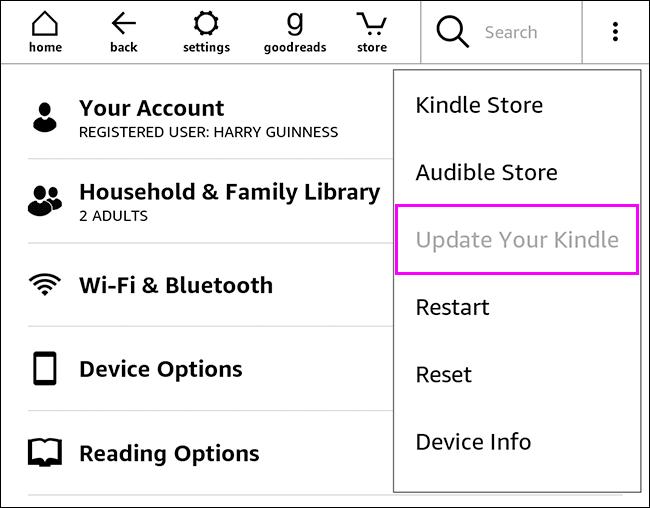 如何更新您的亚马逊 Kindle