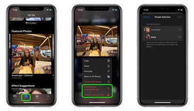 iOS 15:如何让照片应用不那么频繁地展示人物