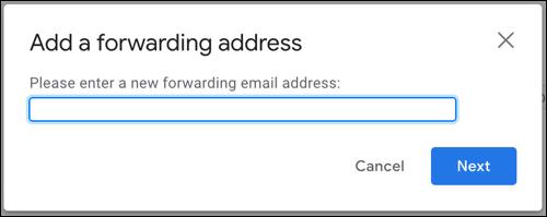如何在 Gmail 中设置转发电子邮件地址