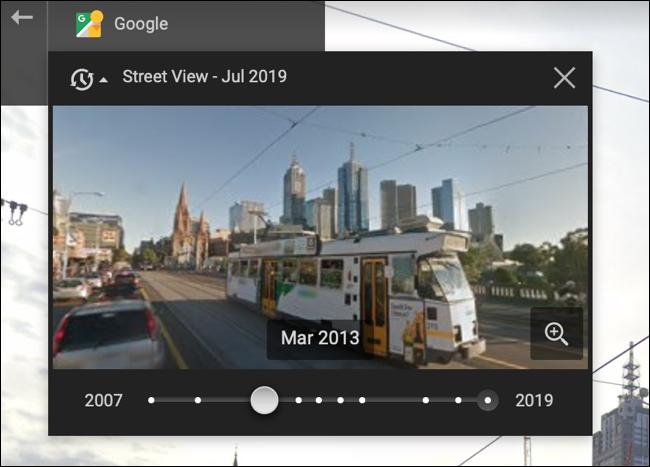 如何在谷歌街景中进行时间旅行