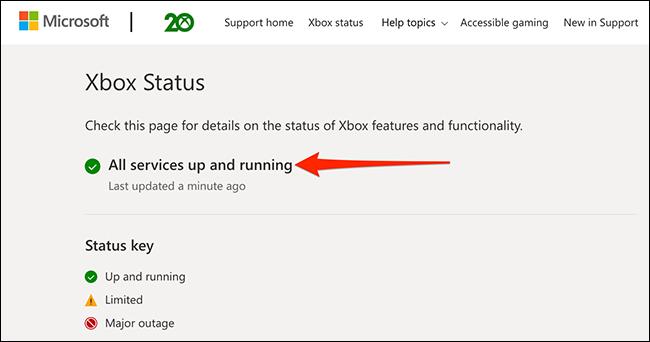 如何检查 Xbox 网络 (Xbox Live) 是否已关闭