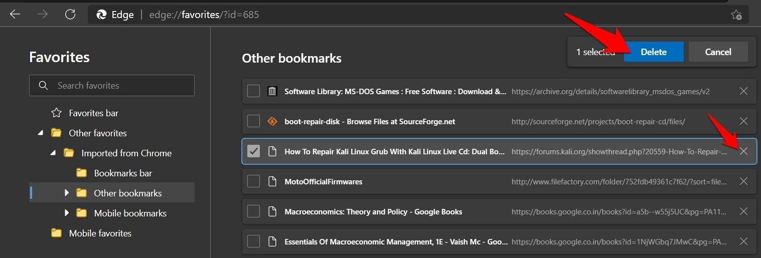 如何在 Microsoft Edge 浏览器中导入收藏夹?