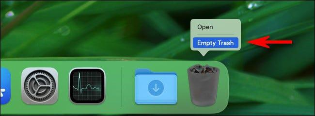 """Mac 上的""""回收站""""在哪里?"""