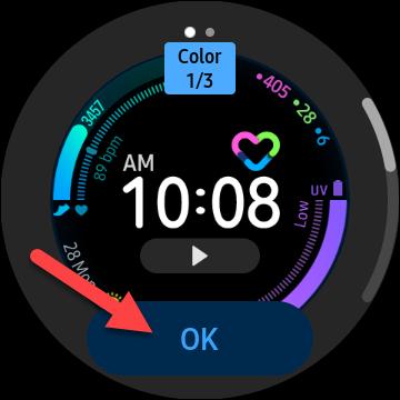 如何更改三星 Galaxy 手表的表盘