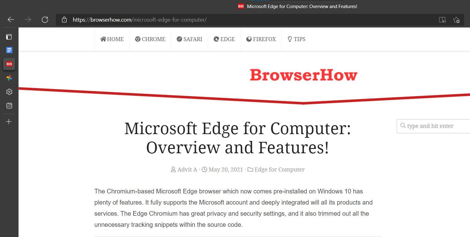 如何启用/禁用 Microsoft Edge 垂直标签?