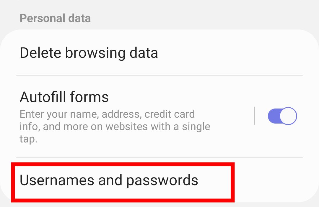 如何在三星 Internet 中保存和管理密码?