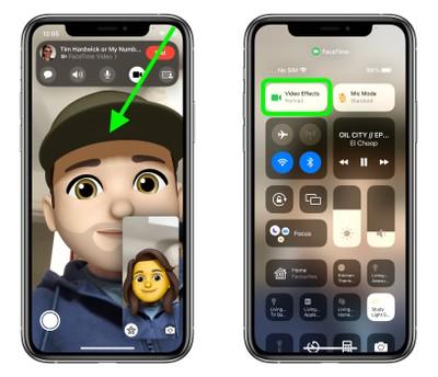 iOS 15:如何在 FaceTime 通话中模糊背景