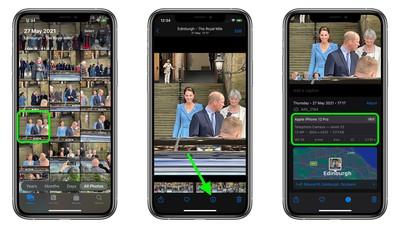 iOS 15:如何在照片应用中查看 EXIF 元数据