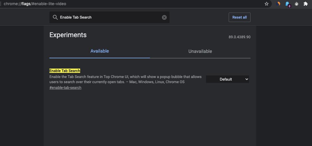 如何启用 Chrome 标志?