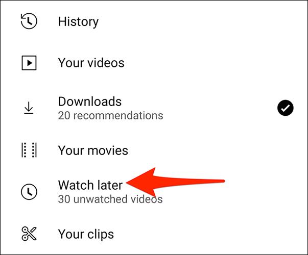 """如何清除 YouTube 上的""""稍后观看"""""""
