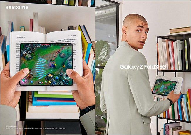 三星推出 Galaxy Z Fold 3 和 Z Flip 3 可折叠手机