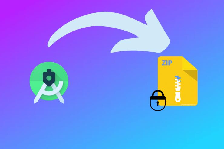 如何在 Android 上密码加密 ZIP 文件?