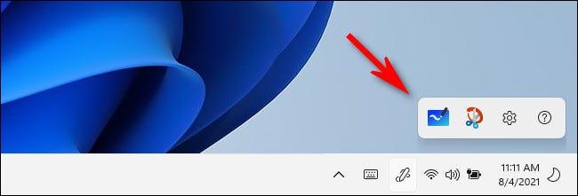 如何在 Windows 11 上显示笔菜单任务栏图标