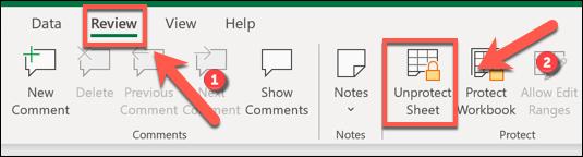 如何在 Microsoft Excel 中锁定单元格以防止编辑