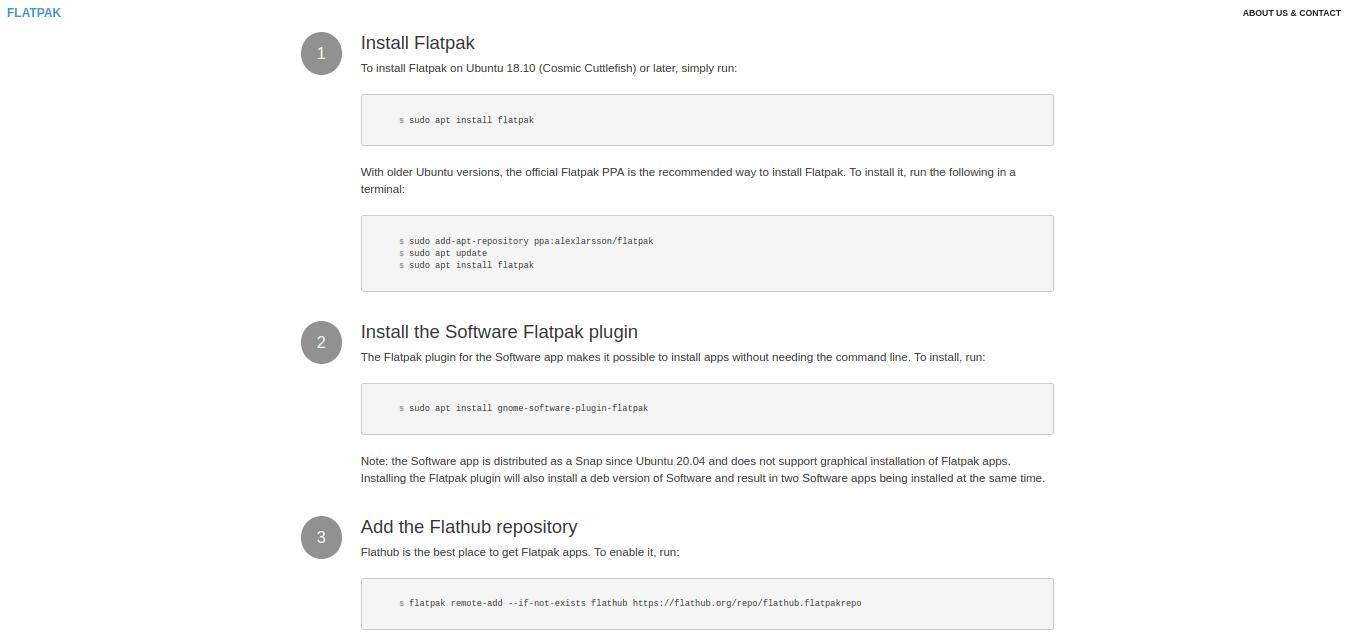 如何在 Linux 上安装 Flatpak 程序?