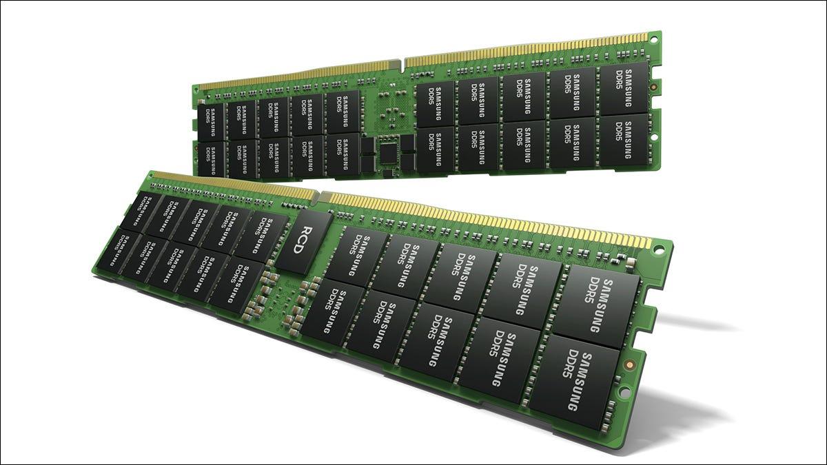 三星调侃速度快得惊人的 512GB DDR5 RAM 模块