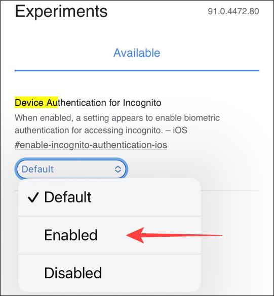 如何在 iPhone 版 Chrome 中使用面容 ID 锁定隐身标签